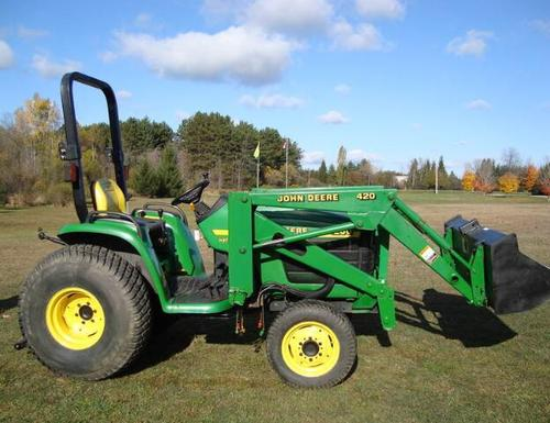Pay for John Deere 4200, 4300, 4400 Compact Utility Tractors Service Technical Manual(TM1677)