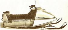Thumbnail 1968 Johnson Skee Horse snowmobile parts manual catalog