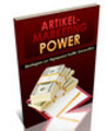 Thumbnail Artikel Marketing Power - PLR Report, Sales Letter uvm.