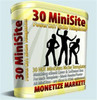 Thumbnail 30 Hot Mini-Sites Niche Templates mit MRR!