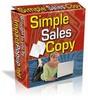 Thumbnail Simple Sales Copy +PLR