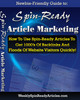 Thumbnail Spin Ready Article Marketing with PLR!