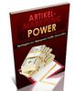 Thumbnail Artikel Marketing Power in Deutsch mit PLR!