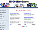Thumbnail Top 30 Video Games Affiliate Projekt mit PLR!