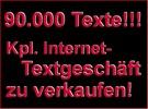 Thumbnail Komplettes Textgeschäft bestehend aus ca. 90.000 Texten PLR!