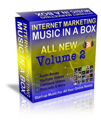 Pay for Internet Marketing Music Volume 2 mit MRR!