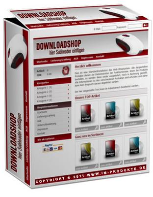 Pay for Profi Download-Shop Script mit MRR!