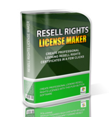 Pay for Resell Rights License Maker Software With MRR!