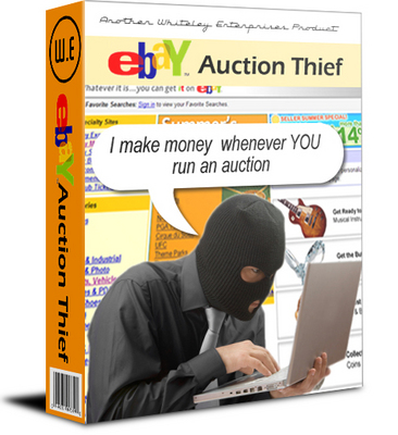 Pay for eBay Auction Thief with Master Resale Rights!