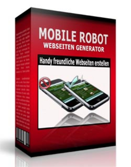 Pay for Mobile Robot Webseiten Generator mit PLR!