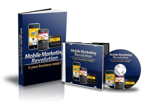 Pay for Mobile Marketing Revolution Video Tutorials + Ebook MRR!