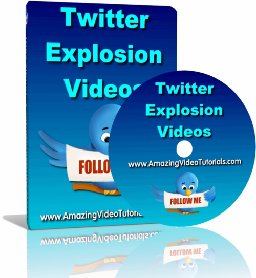 Pay for Twitter Explosion Training Videos mit MRR!