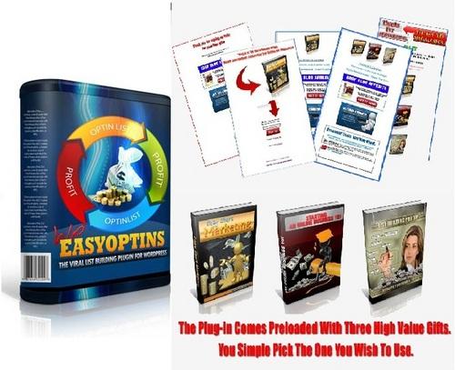 Pay for Wordpress Easy Optin Plugin mit PLR!