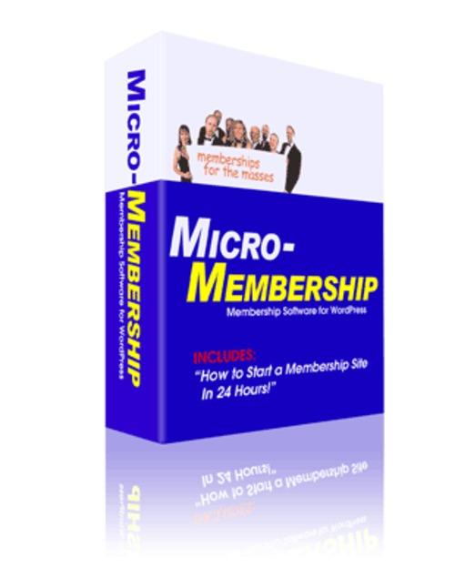 Pay for Mico-Membership Wordpress Plugin MRR + Bonus Ebook!
