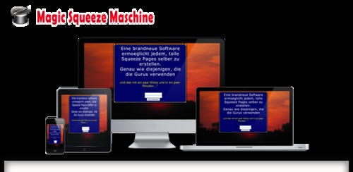Pay for Magic Squeeze Maschine Software mit MRR