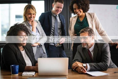 Pay for business Leute Team Unternehmen Firma