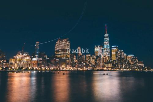 Pay for new york skyline at night