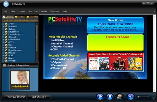 PC Satellite TV Software - Premium Elite Edition
