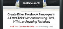 Thumbnail Facebook Fan Page Pro 2.0 - Full PLR w/ Sales Page & PSD