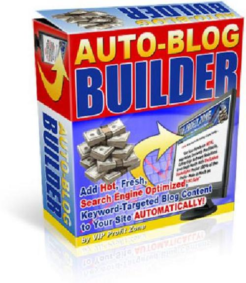 Pay for Auto Blog Builder Auto Website Builder With MRR