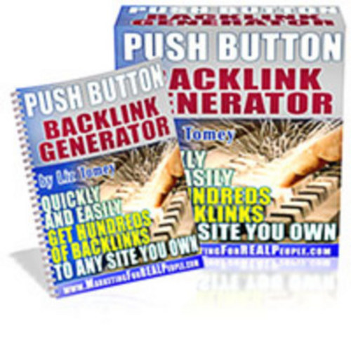 Pay for Push Button Backlinks Generator Software