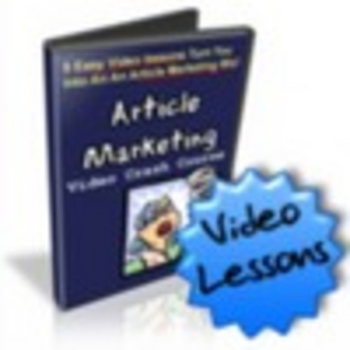 Pay for Article Marketing Video Crash Course