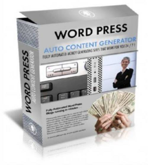Pay for New Wordpress Auto Content Generator   Mrr