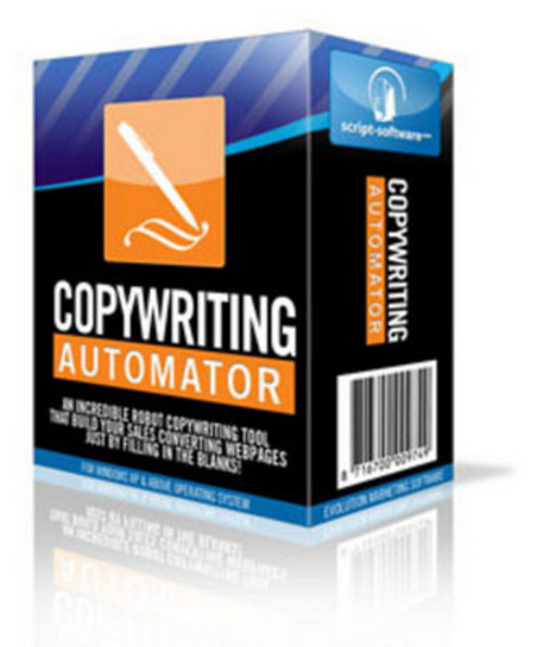 Pay for Copywriting Automator Software With Resell Rights