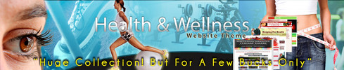 Thumbnail HUGE-Health & Wellness Website Theme (COMBO)