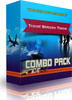 Thumbnail Travel Website Theme (COMBO PACK)