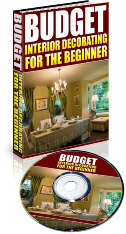 interior decorating for beginners on a budget mp3 ebook