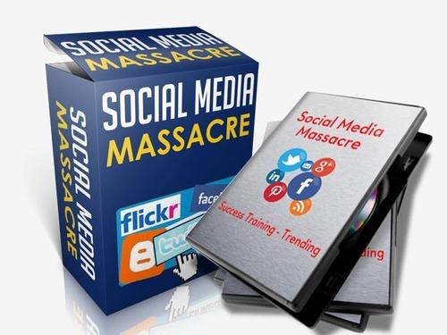 Social Media Massacre Training - Video Series (PLR)