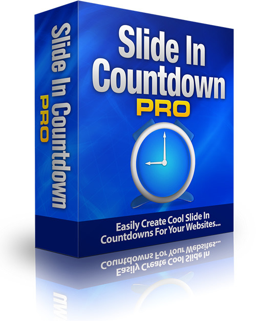 Pay for Slide In Countdown Pro