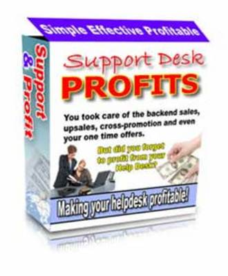 Pay for Support Desk Profits