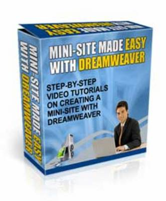 Pay for Mini-Site Made Easy With Dreamweaver