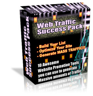 Pay for Web traffic success pack
