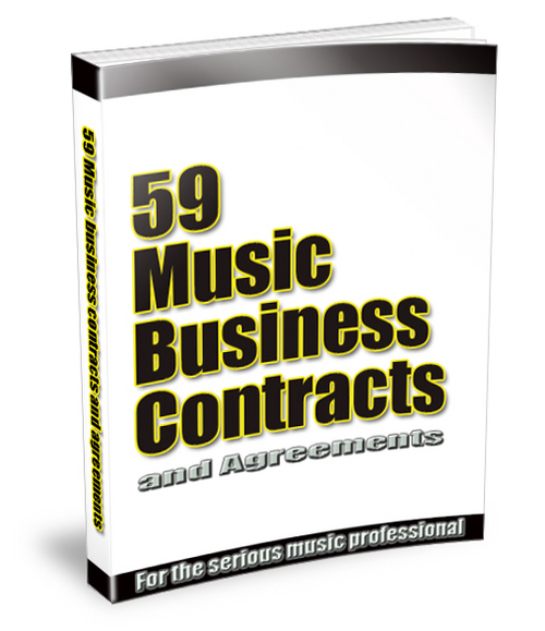 Pay for 59 Music business contracts.zip