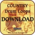 Thumbnail COUNTRY DRUM LOOPS - WAV format Sample Collection.