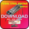 Thumbnail PEDAL STEEL GUITAR Samples Loops-WAV Country Collection