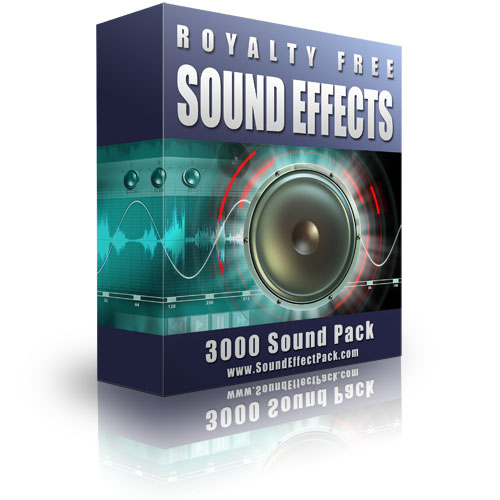 Pay for 3000 Sound Effect Pack (3000 Sound Effects)