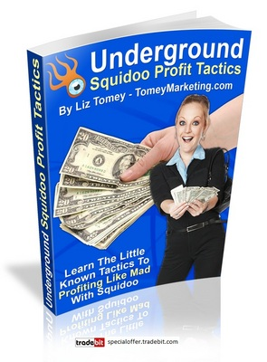 Pay for *New* Underground Squidoo Profit Tactics with Mrr