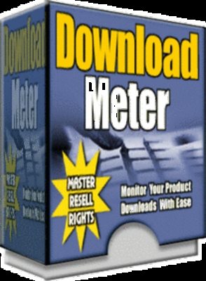 Pay for ** NEW** Download meter Pro with MRR (Master Resell Rights)