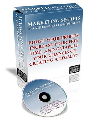 Pay for Million-Dollar Secrets Of An Info-Preneur- Audio With Master Resell Rights