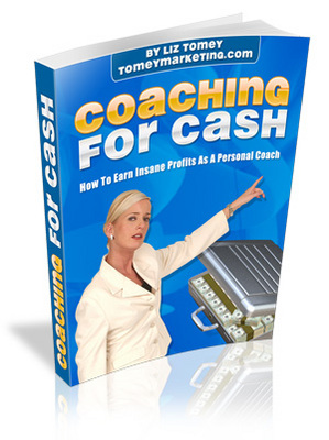 Pay for Coaching for Cash - personal development ebook with Master Resell Rights