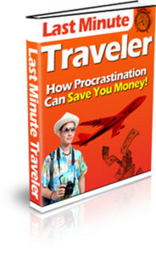 Pay for The Essential Guide To Last Minute Travel Deals PLR with master resell rights and private label rights