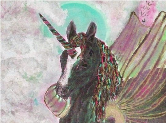 Pay for Royalty Free Unicorn Image with Master Resell Rights