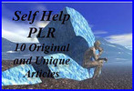 Thumbnail PLR Self Help 10 Articles Pack