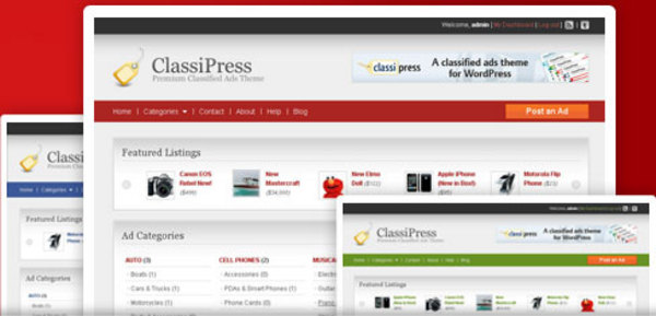 Pay for ClassiPress is the most popular and widely used classified a