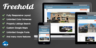 Thumbnail Freehold - Drupal 7 Real Estate Theme