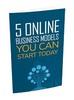 Thumbnail 5 Online Business Models